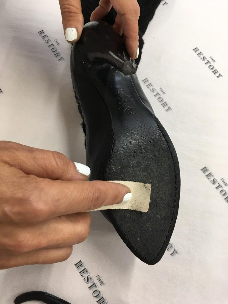 Skiving down the sole
