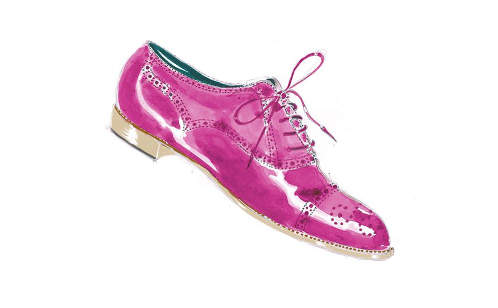 Manolo Blahnik Men's Brogue Sketch (Source: Manolo Blahnik Official )
