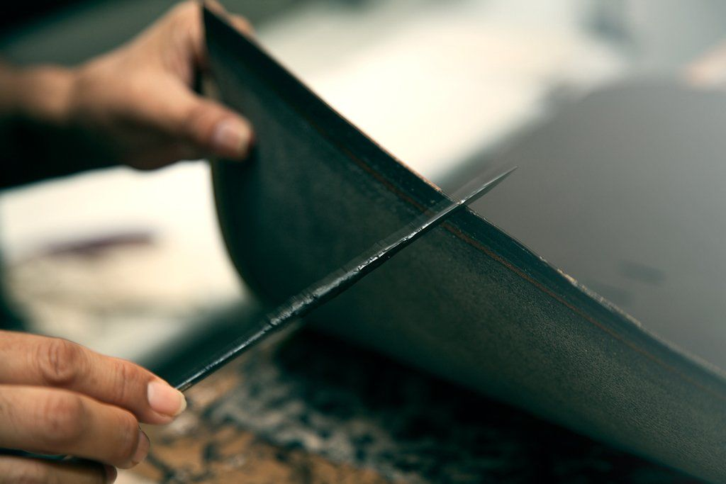 Leather work