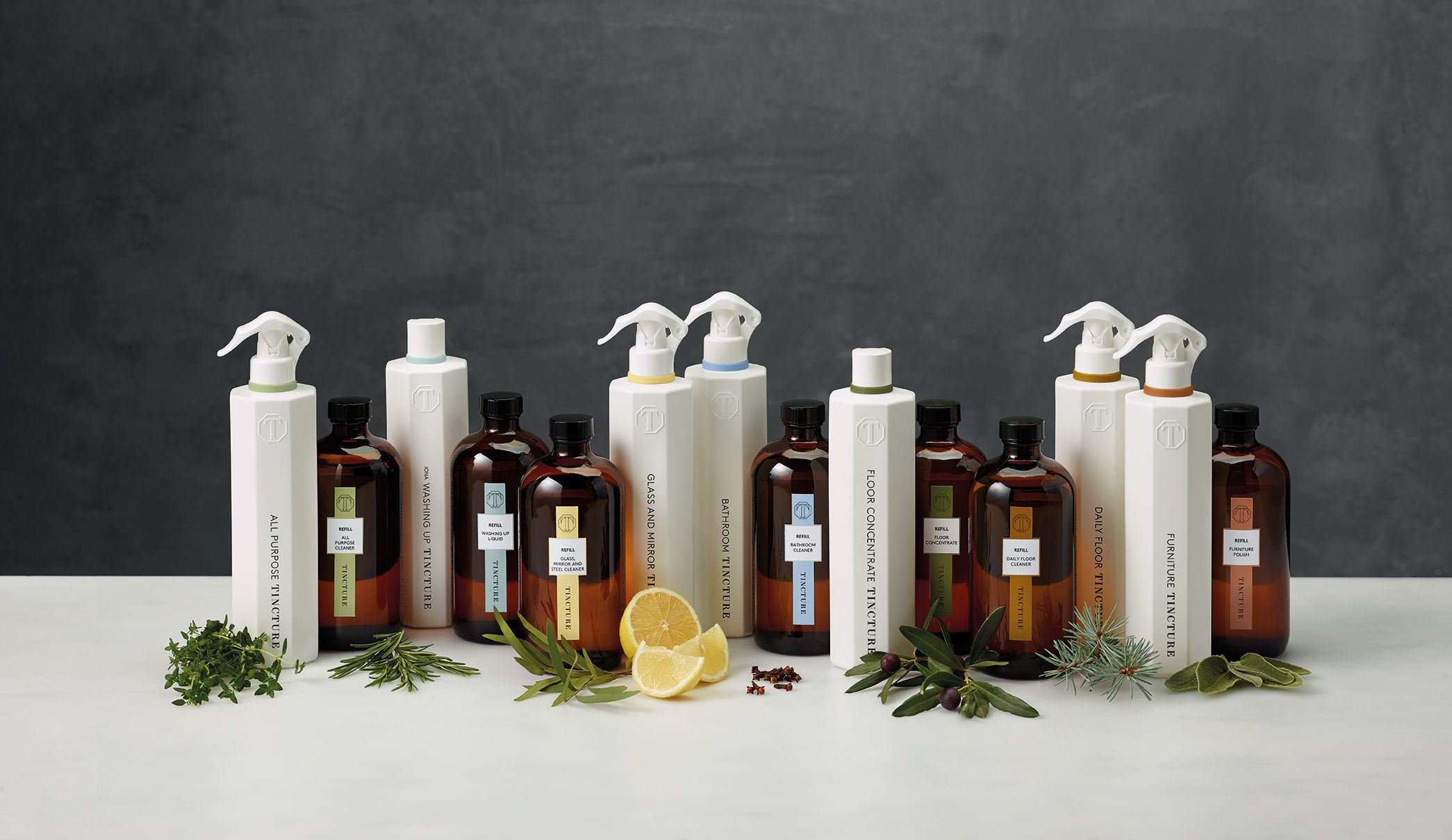 Tincture create 100% natural home cleaning products