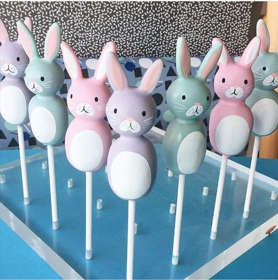Easter Pops from POP Bakery