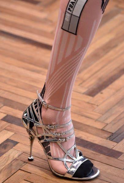 Prada Socks in Sandals
