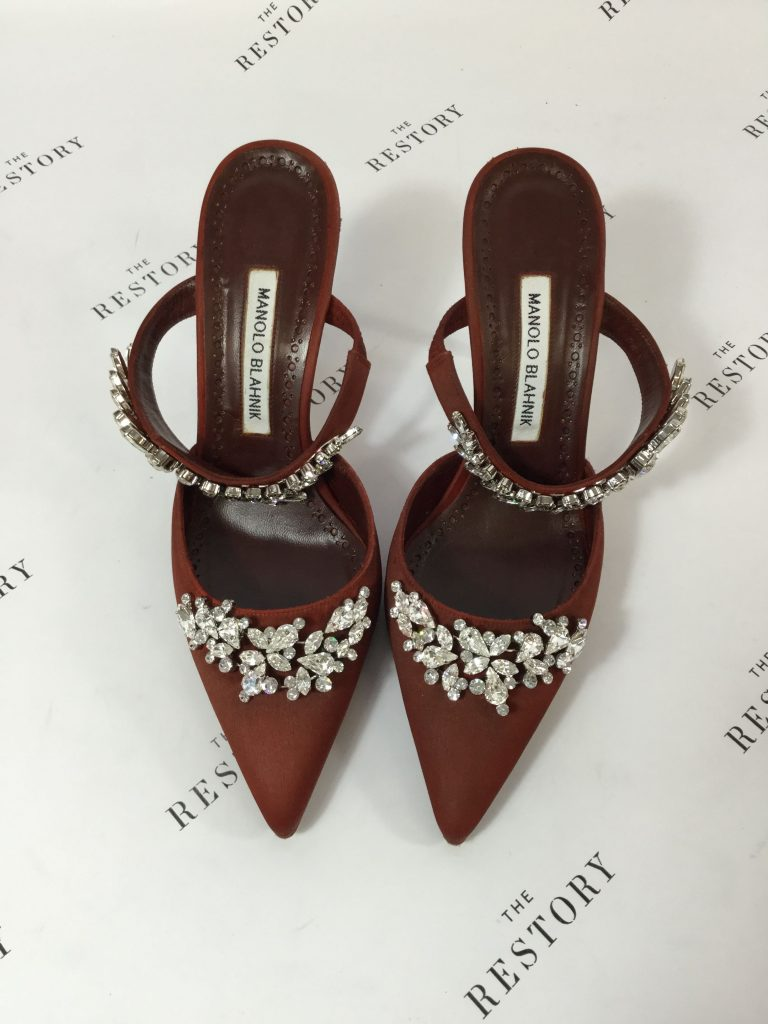 After Dyeing Manolo Blahnik