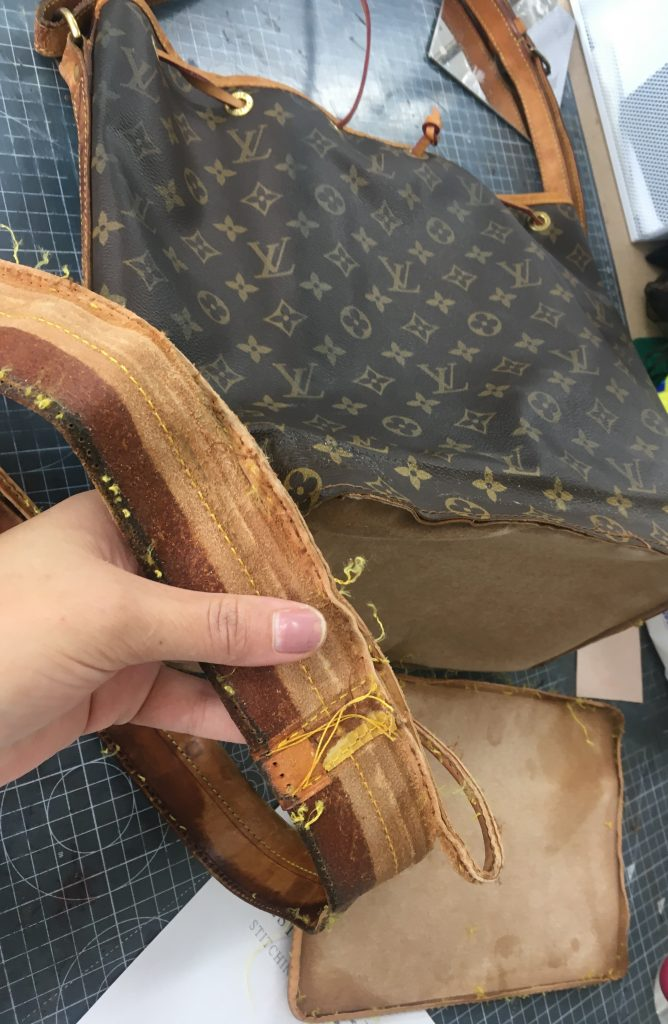 Louis Vuitton Restoration Process