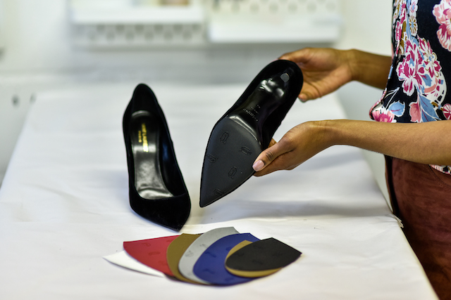Rubber protective sole