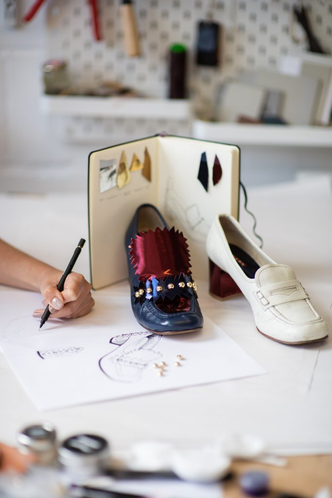 Refashioning a pair of shoes pre-wear service